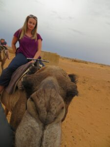 Moroccan Camel Trek… With a good long camel ride
