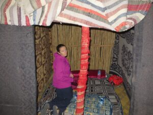 Nic is the happy Berber homemaker