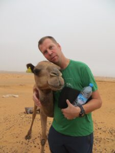 Just me and my camel
