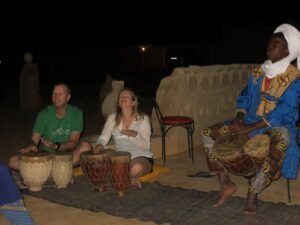 Playing some Berber music