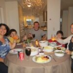 Thanksgiving with Friends, Geneva and Rome