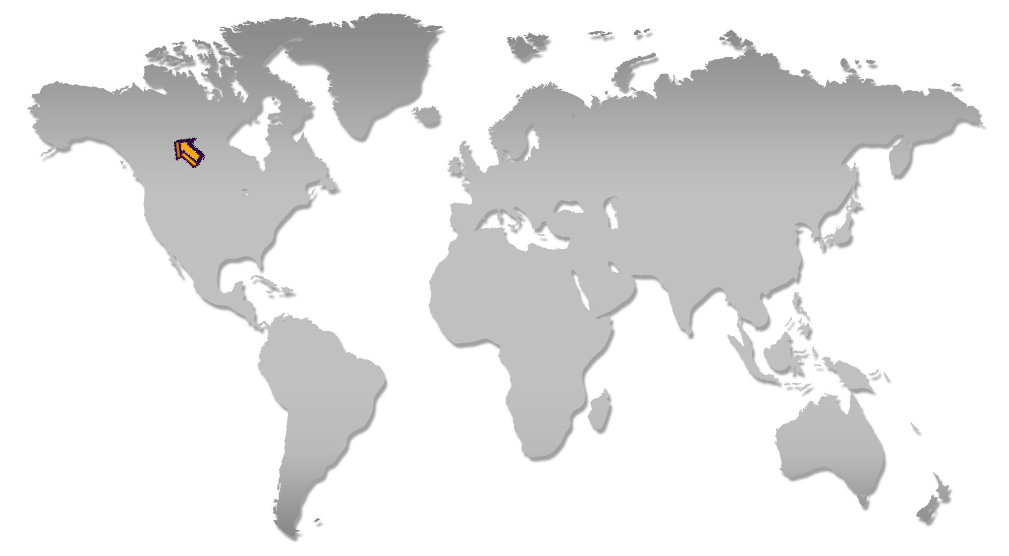 World Map Fort Smith